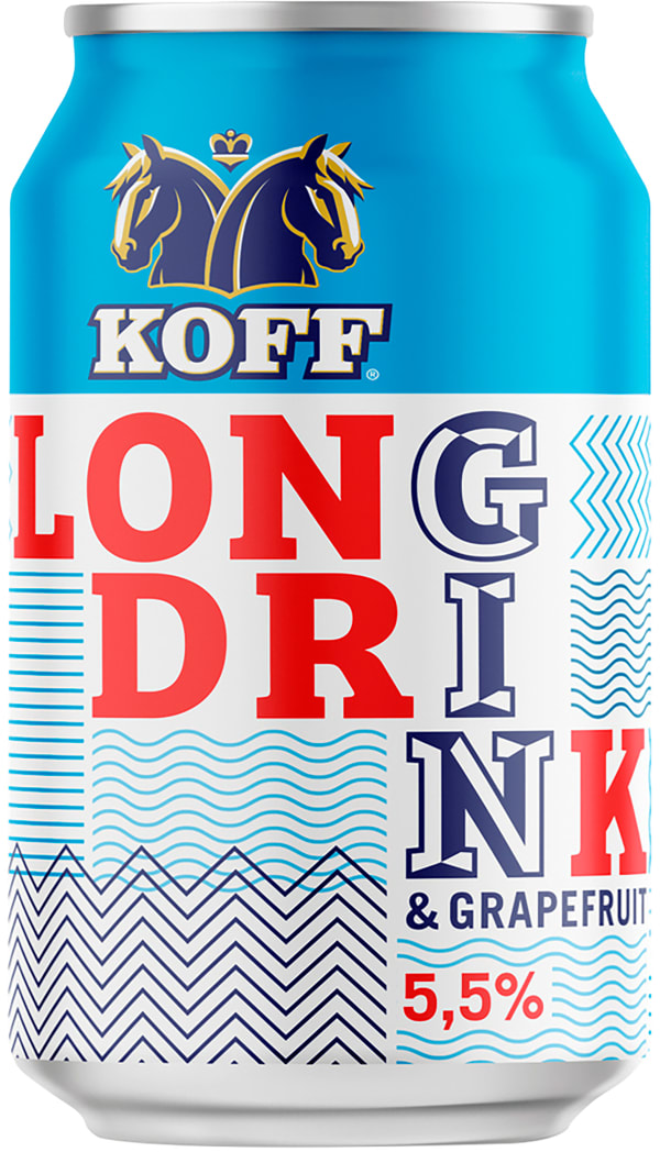 Koff Long Drink can