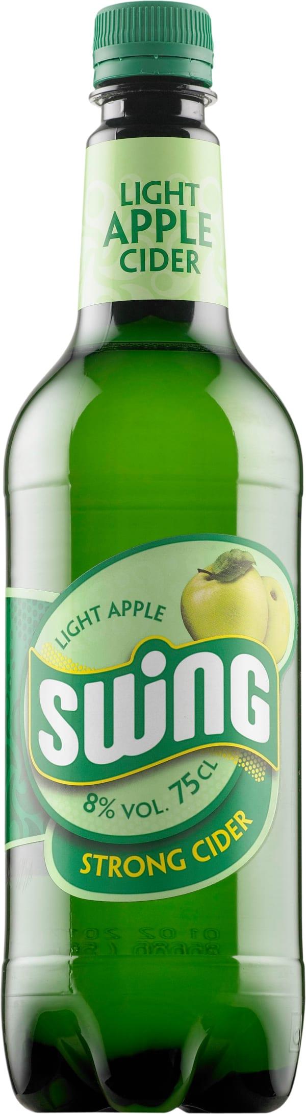 Swing Light Apple Strong Cider plastic bottle