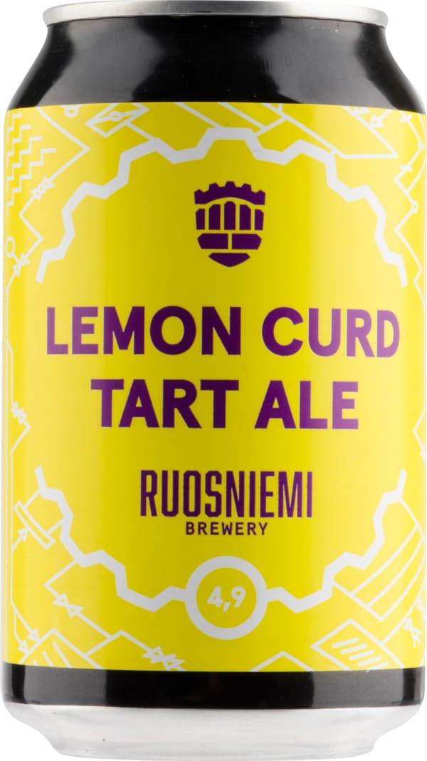 Ruosniemen Lemon Curd Tart Ale burk