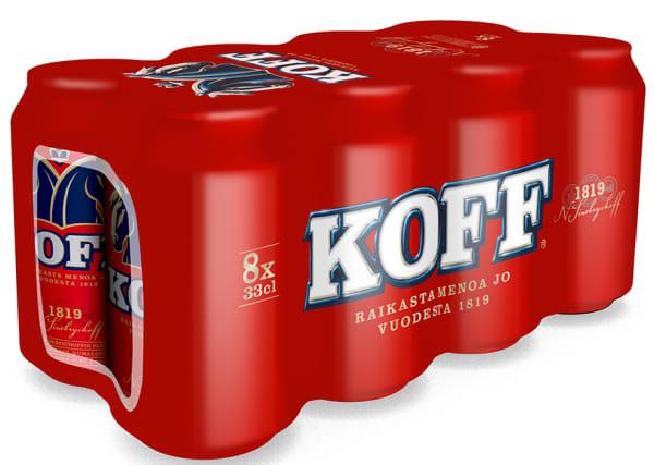 Koff III 8-pack burk