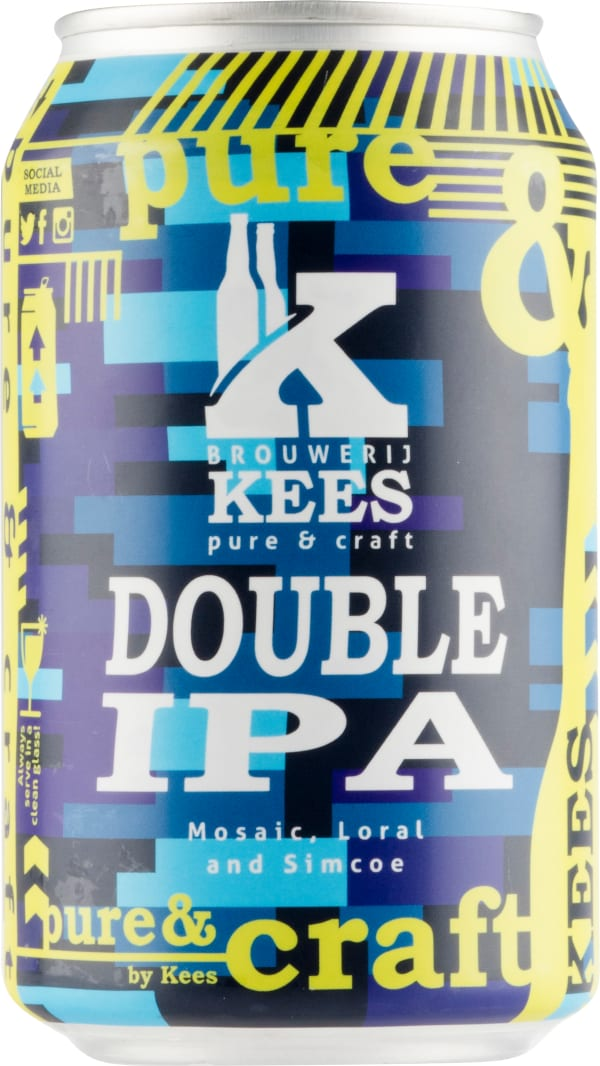 Kees Double IPA can