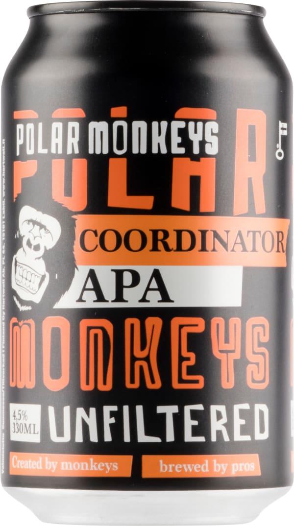 Polar Monkeys Coordinator APA burk