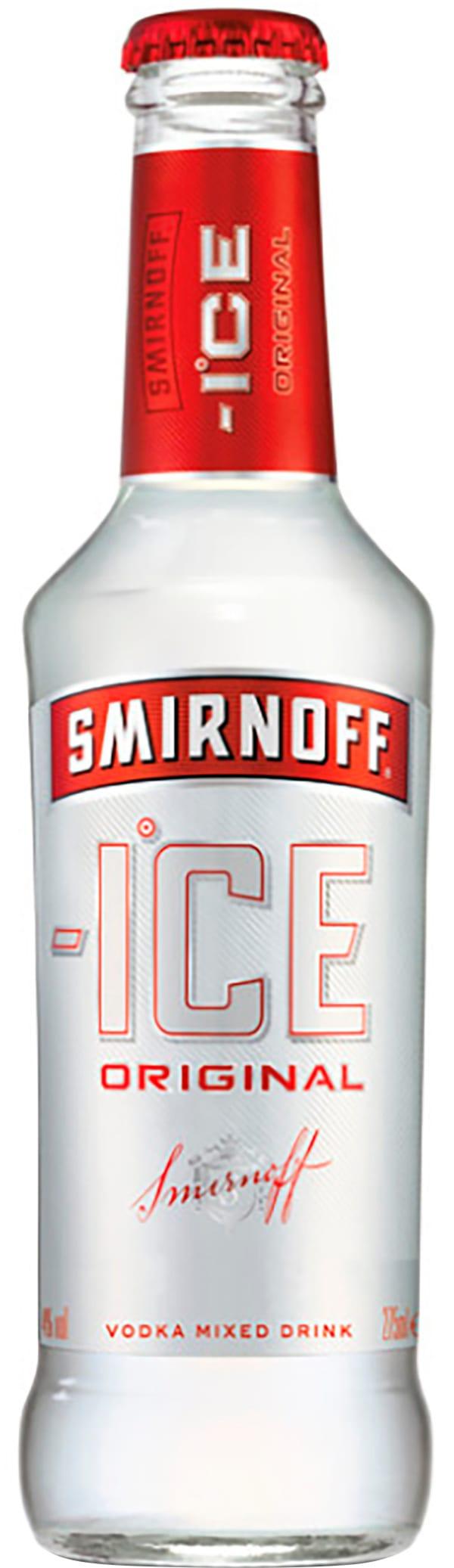 Smirnoff Ice plastic bottle