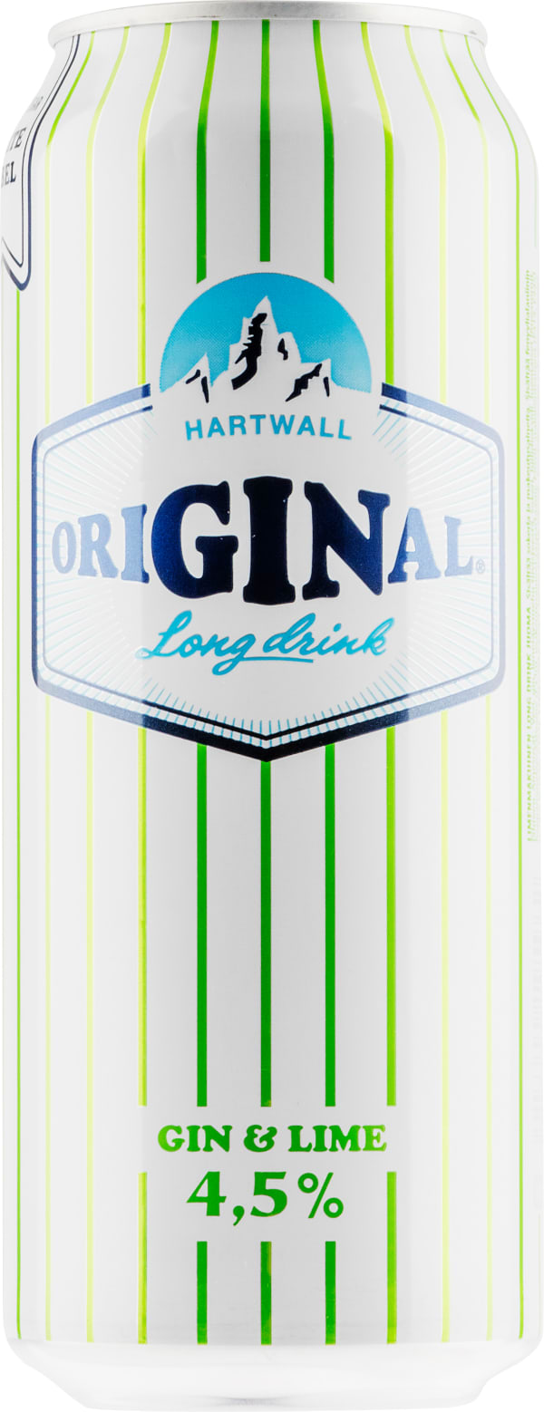 Original Long Drink Gin & Lime can