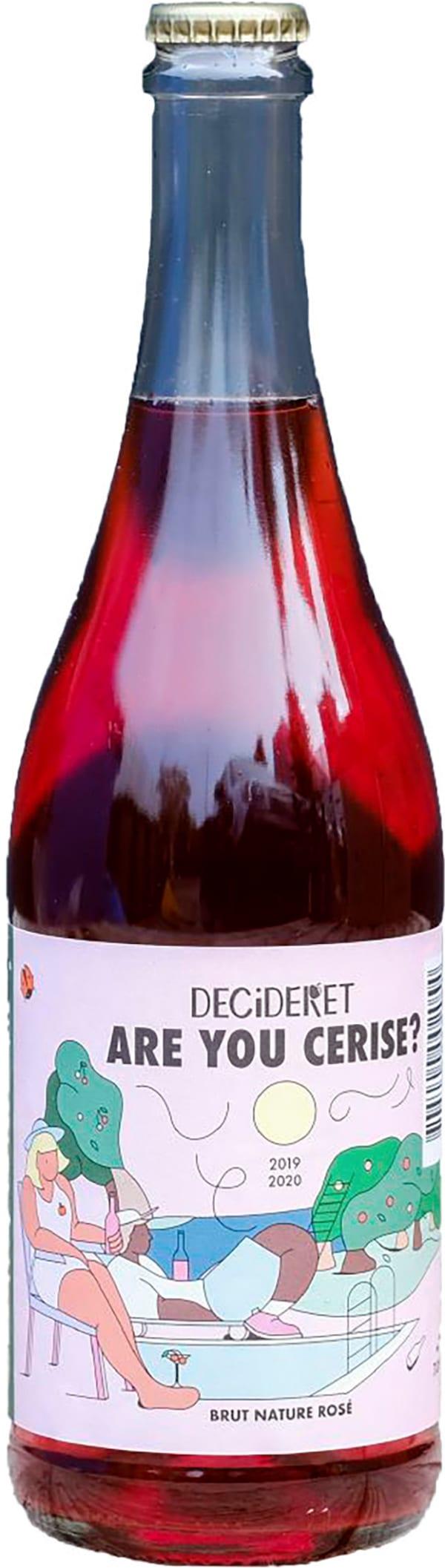 Decideret Are You Cerise? Brut Nature Rosé Cider