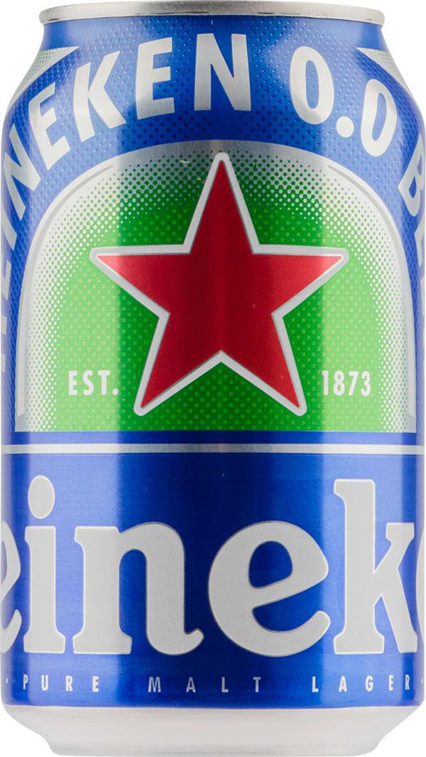 Heineken 0.0 can