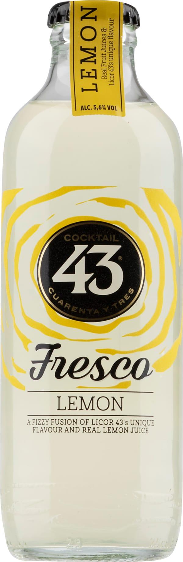 Cocktail 43 Fresco Lemon