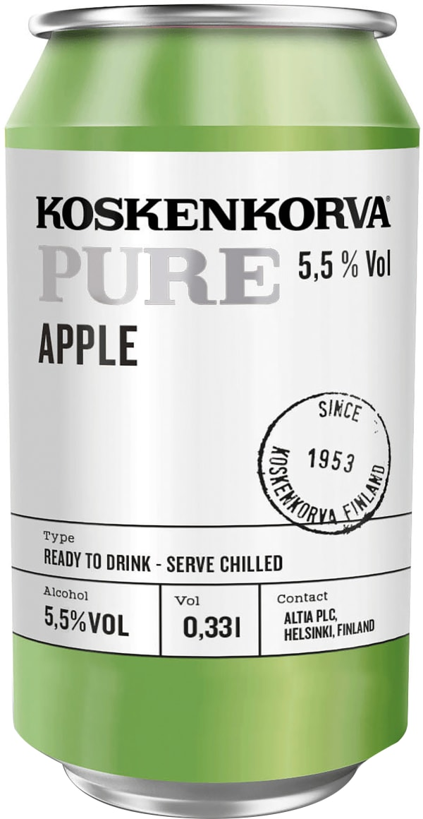 Koskenkorva Pure Apple can