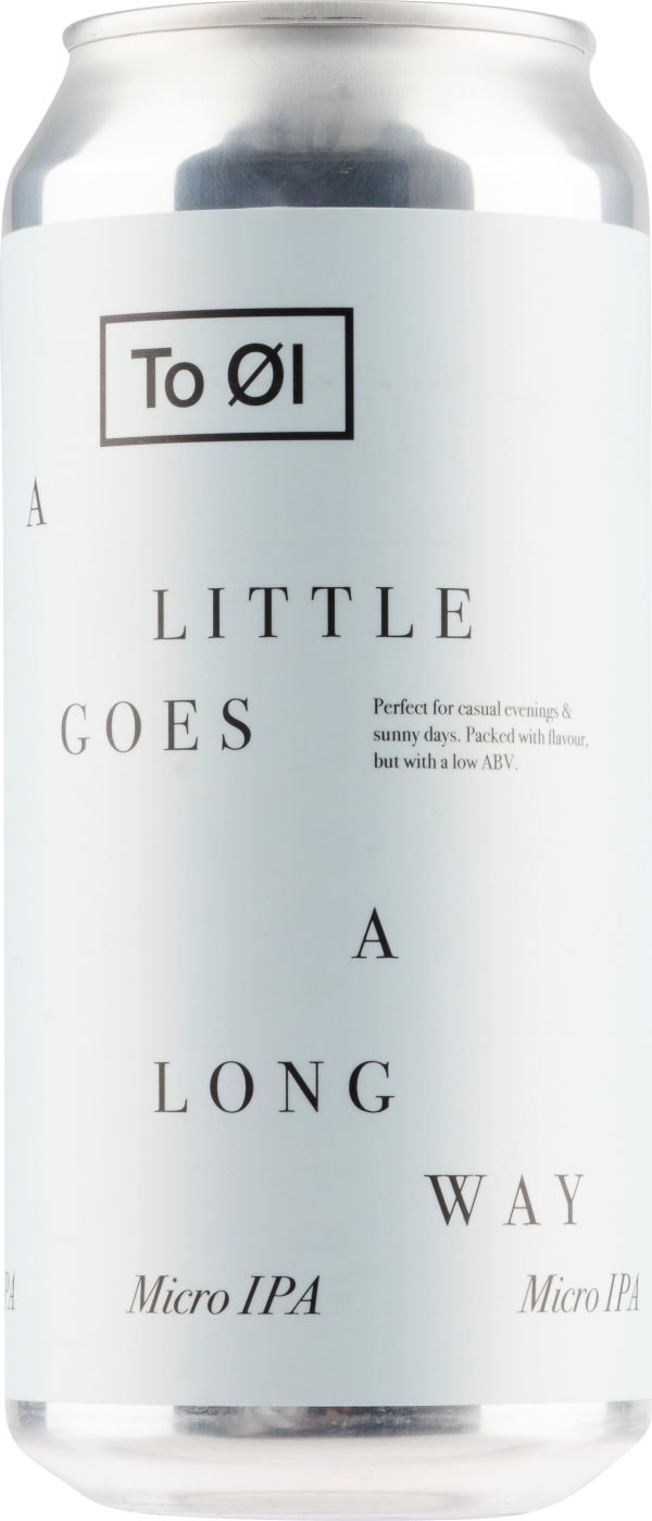 To Øl A Little Goes A Long Way Micro IPA can