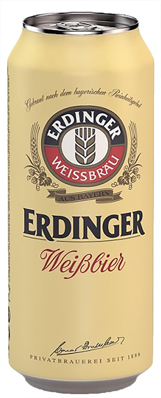 Erdinger Weissbier can