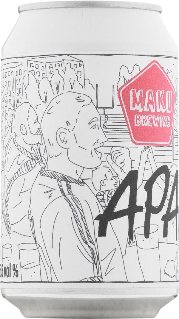 Maku Brewing APA can