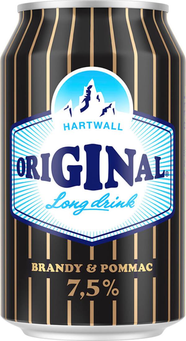 Original Long Drink Strong Brandy & Pommac can