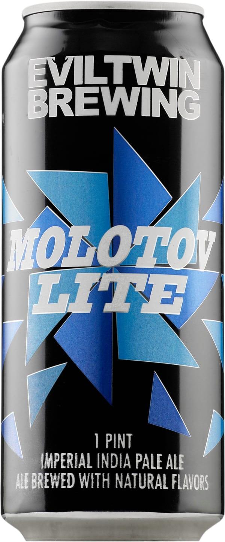 Evil Twin Molotov Lite Imperial India Pale Ale can