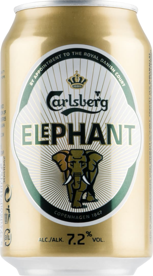 Carlsberg Elephant can