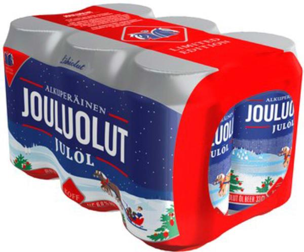 Koff Jouluolut 6-pack can