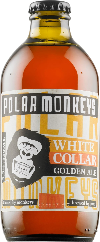 Polar Monkeys White Collar Golden Ale