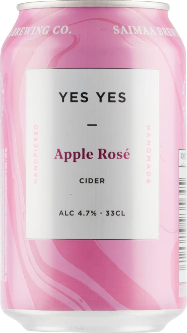 Saimaa Yes Yes Apple Rosé can