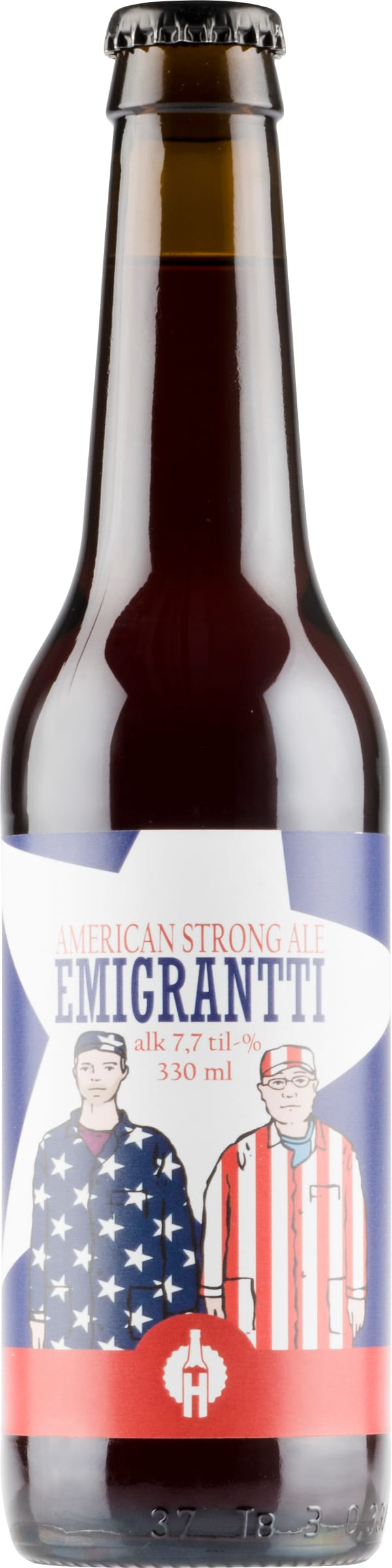 Honkavuoren Emigrantti American Strong ale