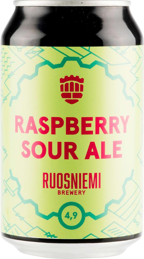 Ruosniemen Raspberry Sour Ale can