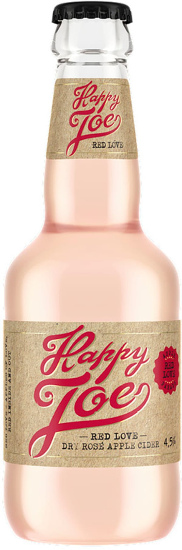 Happy Joe Red Love Dry Rose Apple Cider