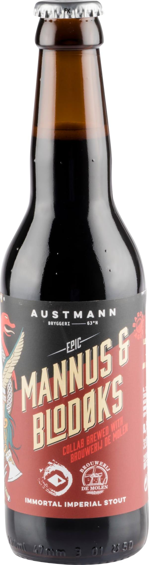 Austmann Mannus & Blodøks Imperial Stout