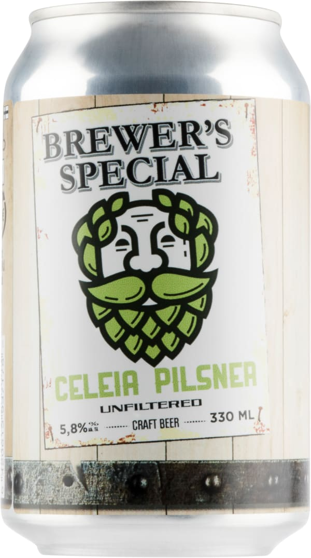 Saimaa Brewer's Special Celeia Pilsner burk