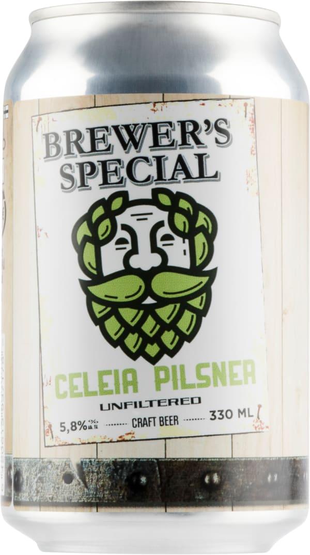 Saimaa Brewer's Special Celeia Pilsner can