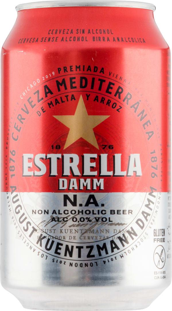 Estrella Damm N.A. burk