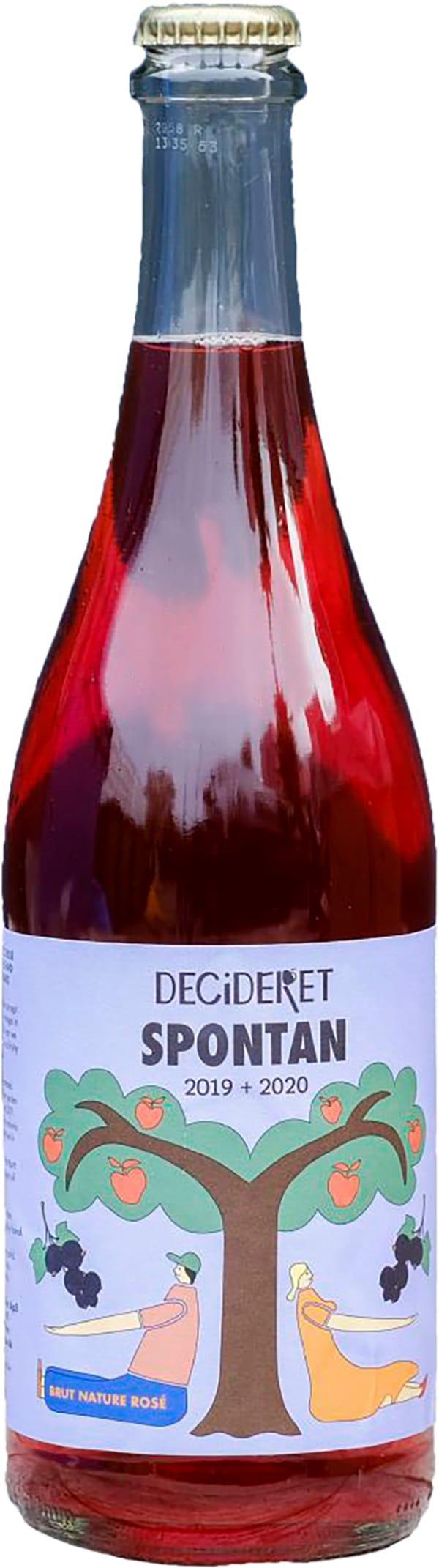 Decideret Spontan Brut Nature Rosé Cider