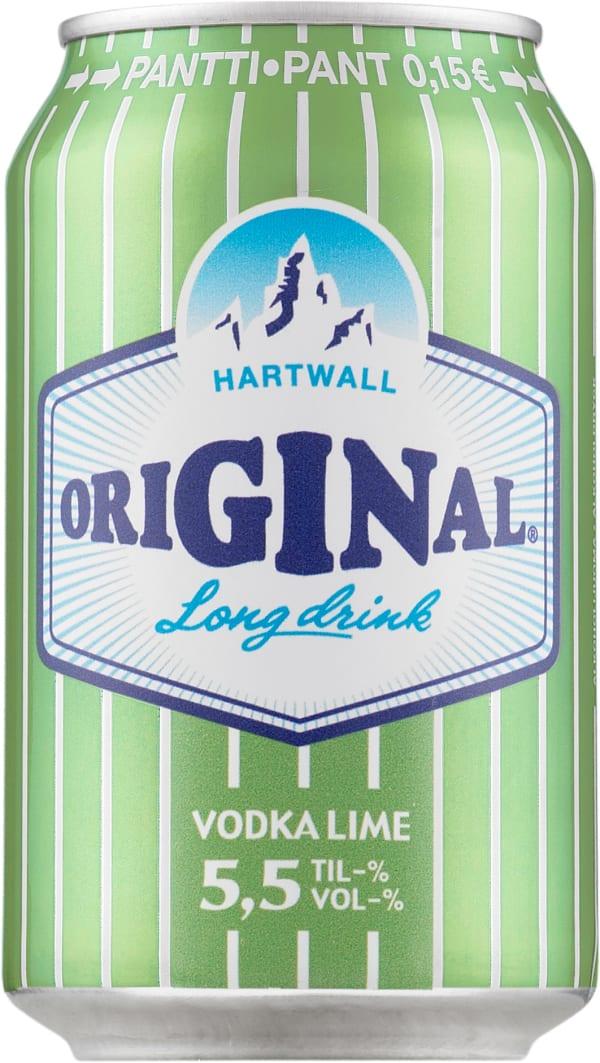 Original Long Drink Vodka Lime can