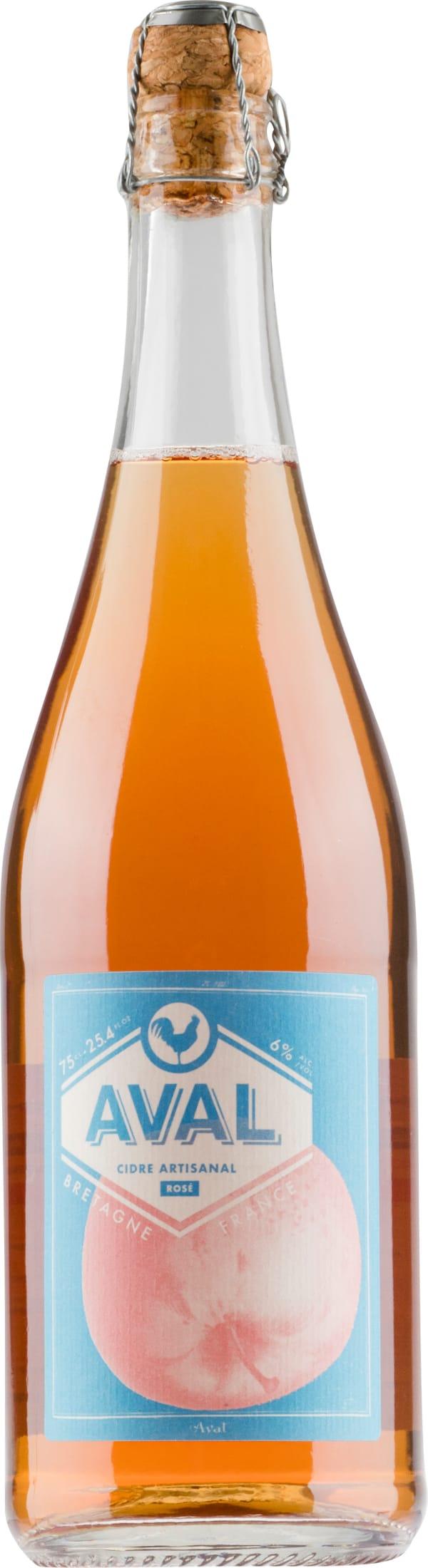 Aval Cidre Artisanal Rosé