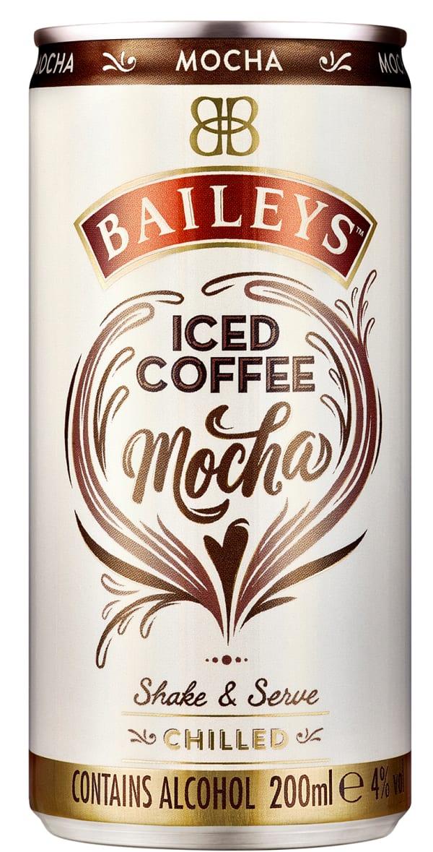 Baileys Iced Coffee Mocha can