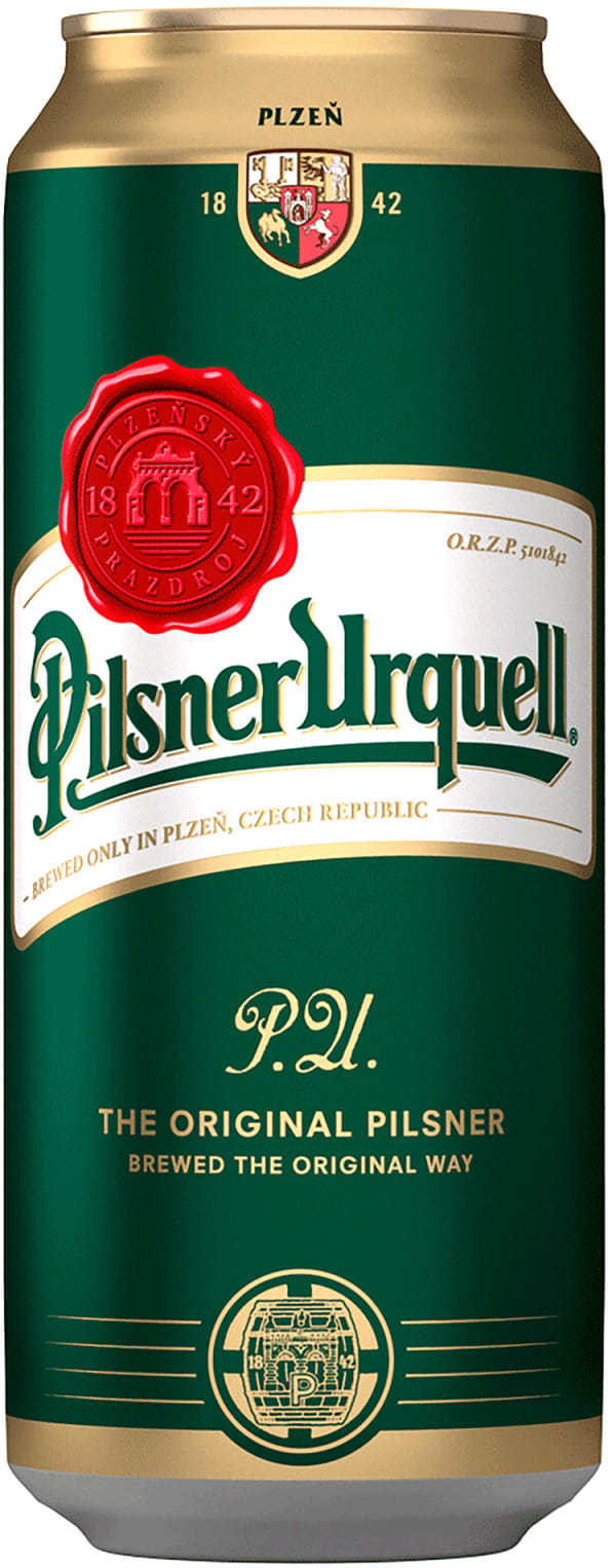 Pilsner Urquell can