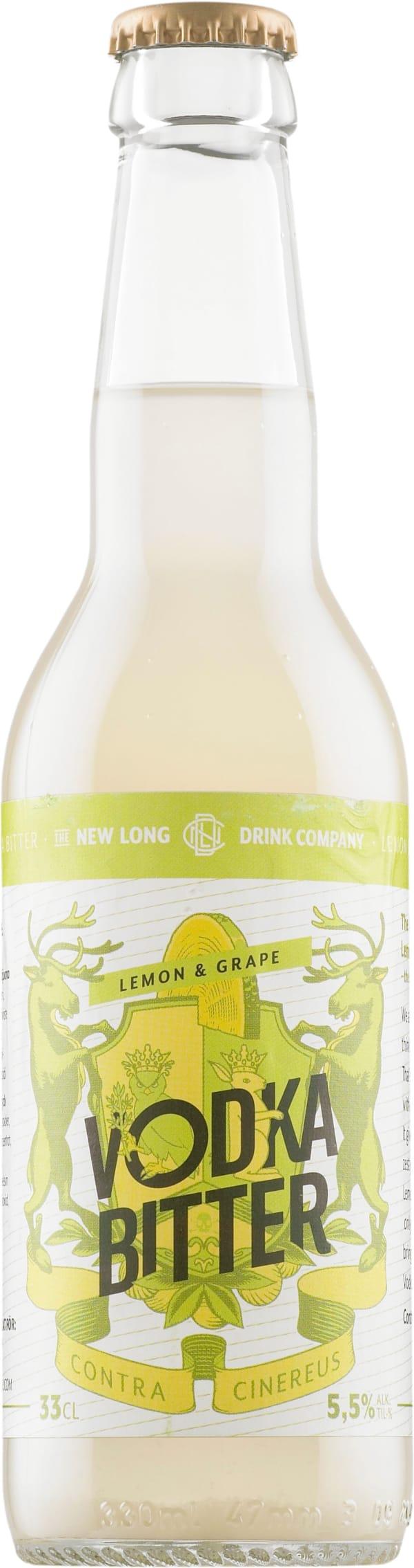 New Long Drink Company Lemon & Grape Vodka Bitter