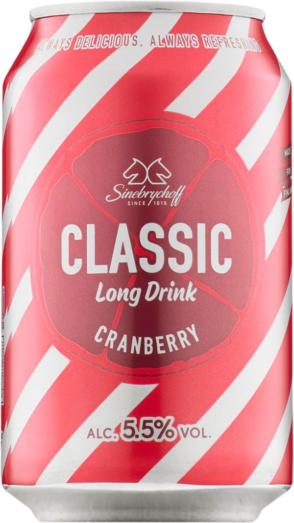 Sinebrychoff Cranberry Long Drink burk