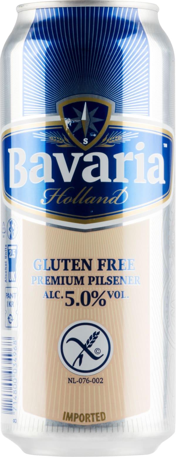 Bavaria Gluten Free Premium Pilsner can