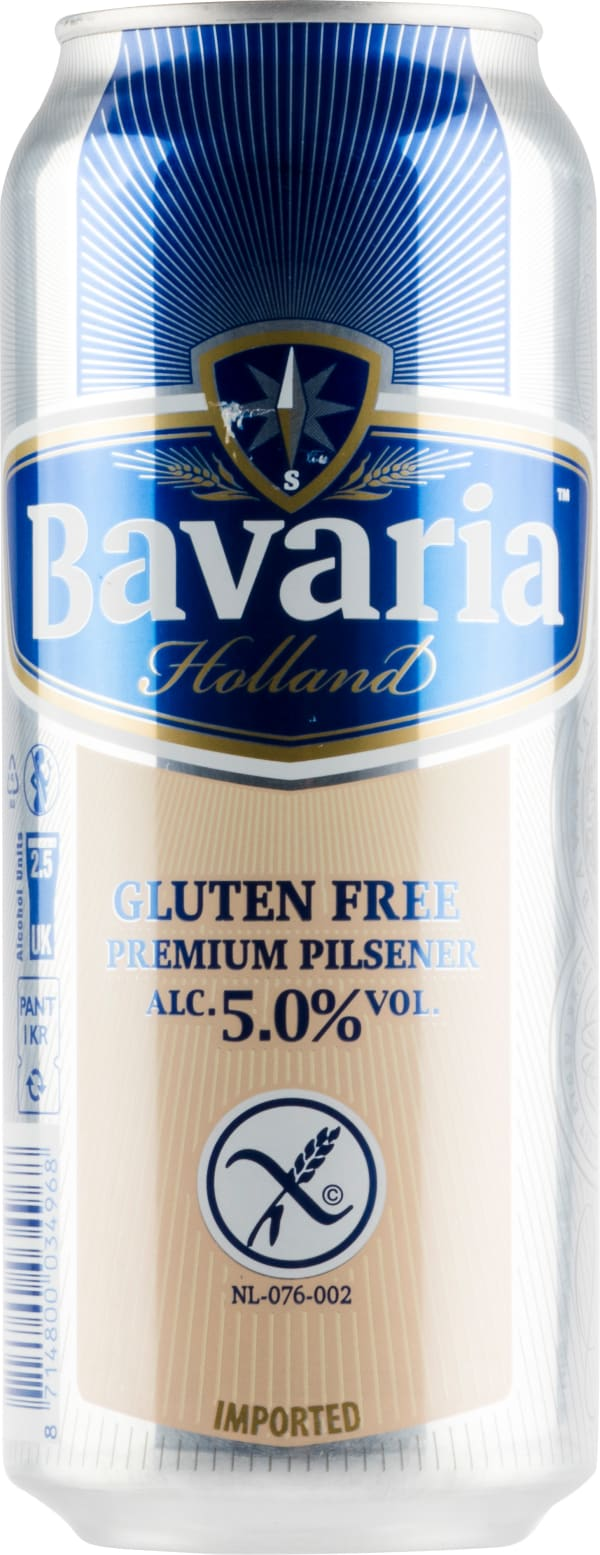 Bavaria Gluten Free Premium Pilsner tölkki
