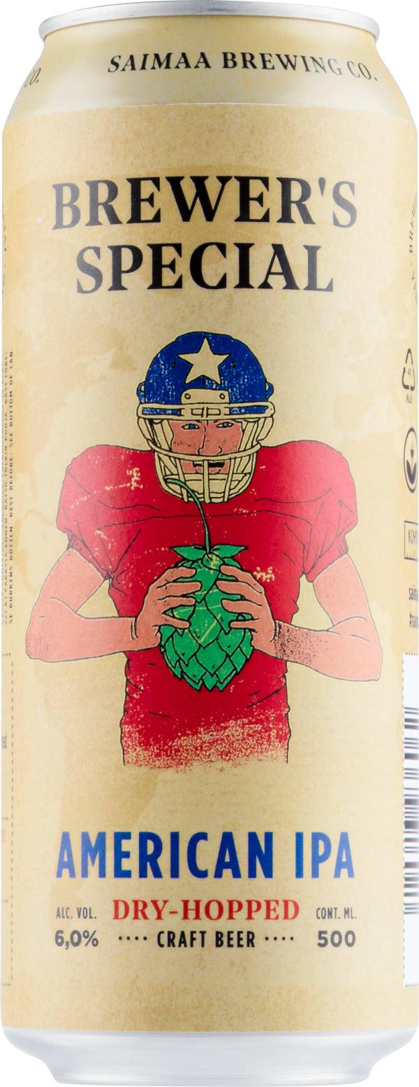 Saimaan Brewer's Special American IPA burk