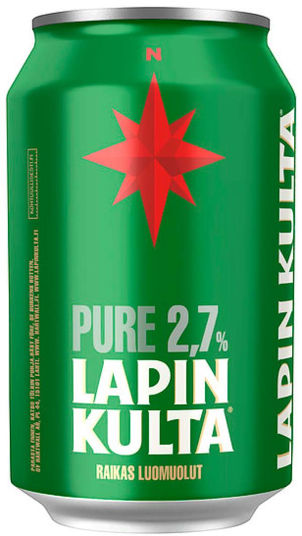 Lapin Kulta Pure 2,7% tölkki