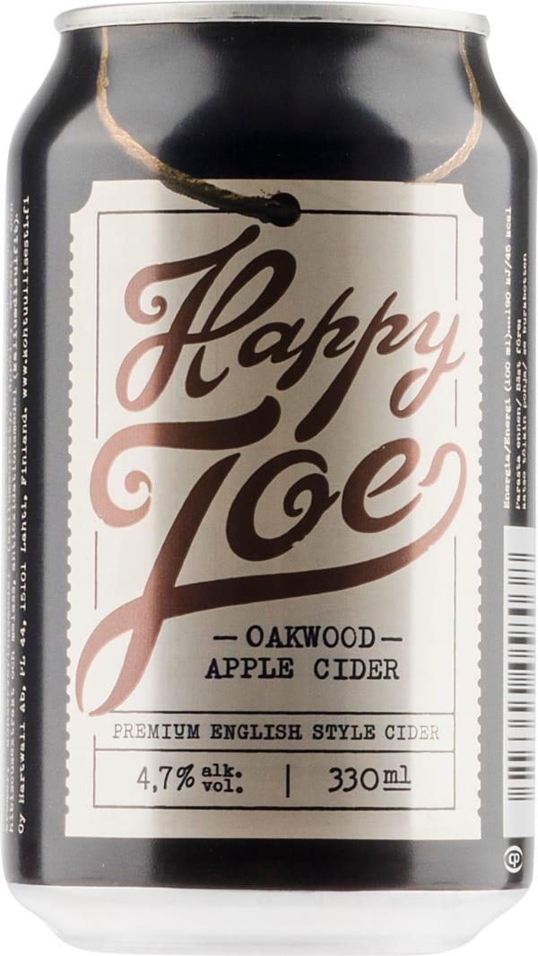 Happy Joe Oakwood Apple Cider can