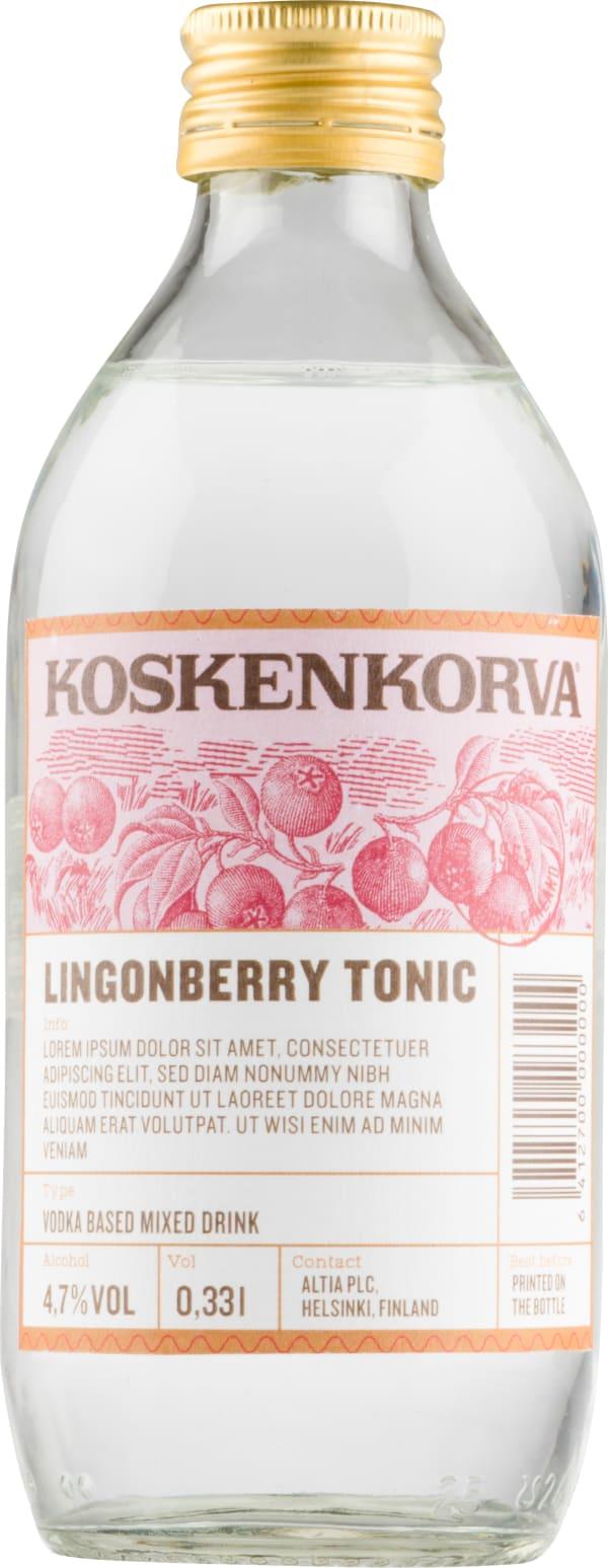 Koskenkorva Lingonberry Tonic