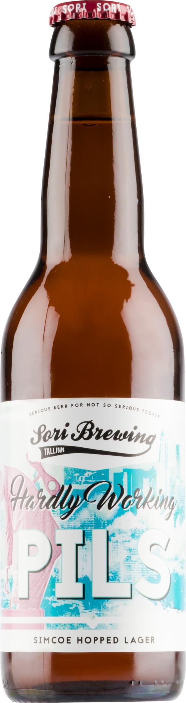 Sori Brewing Hardly Working Pils