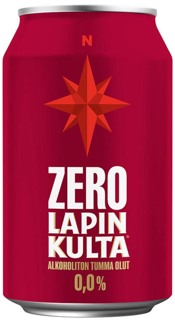 Lapin Kulta Zero Alkoholiton Tumma Olut can