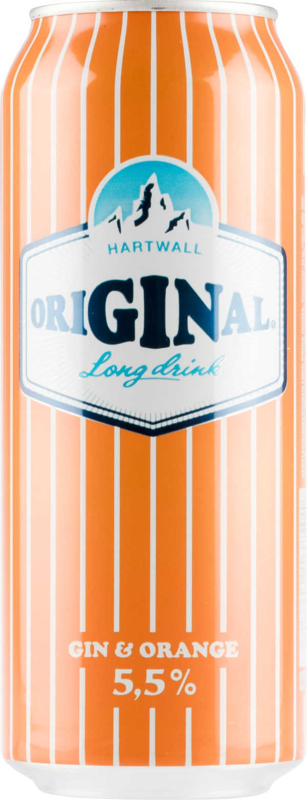 Original Long Drink Gin & Orange burk
