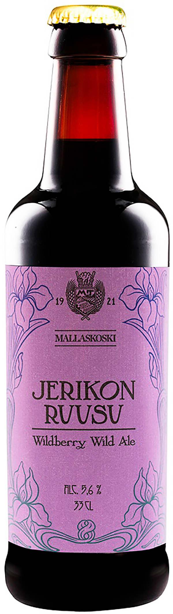 Mallaskoski Jerikon Ruusu Wildberry Wild Ale
