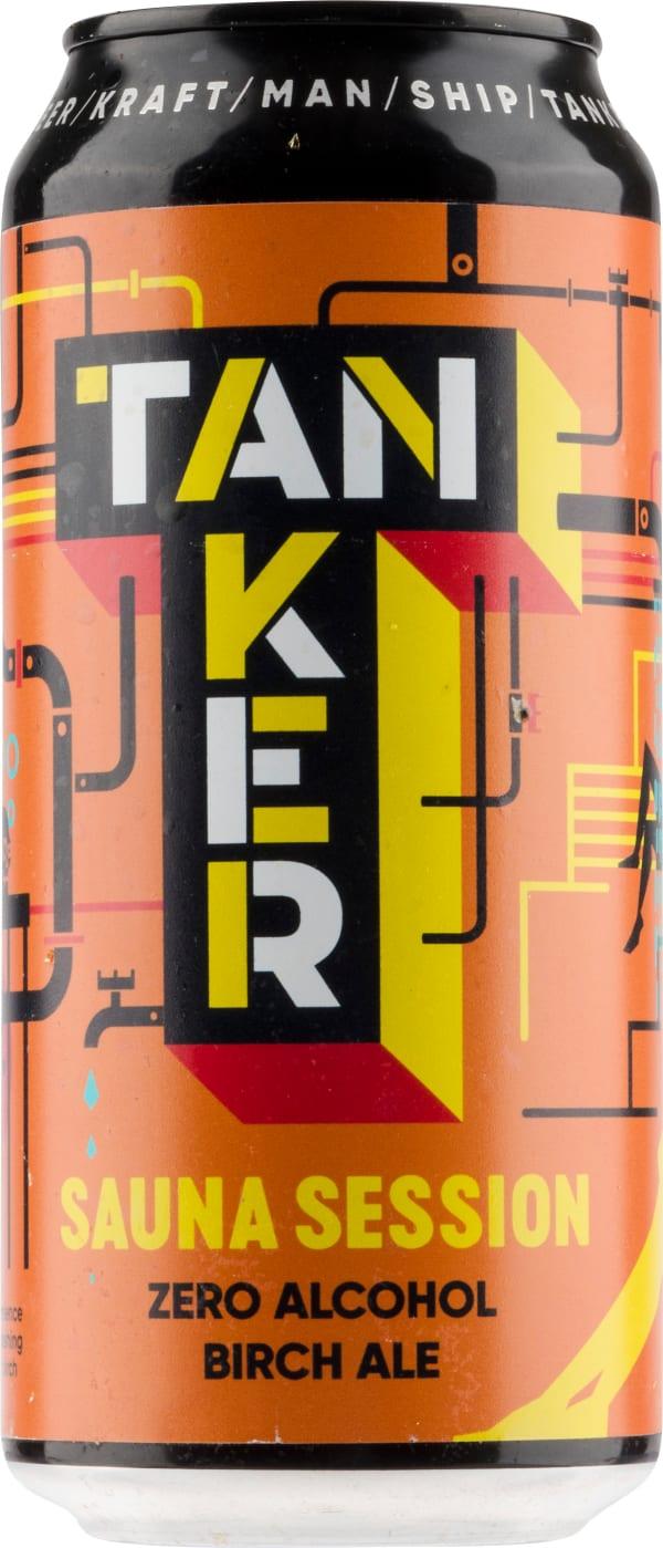 Tanker Sauna Session Zero Alcohol Birch Ale can