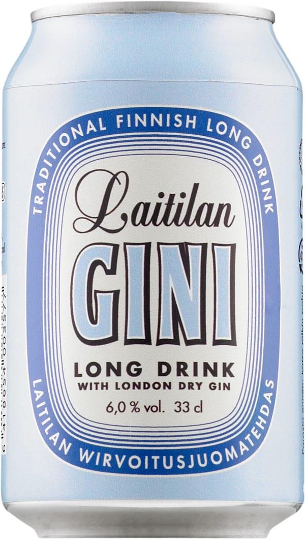 Laitilan Gini Long Drink burk