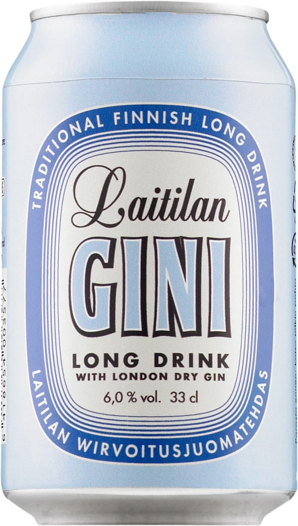 Laitilan Gini Long Drink can