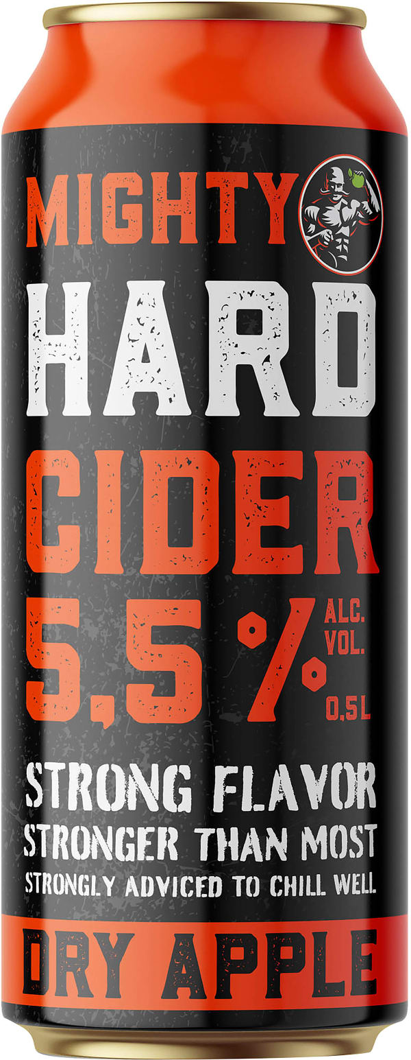 Mighty Hard Cider can