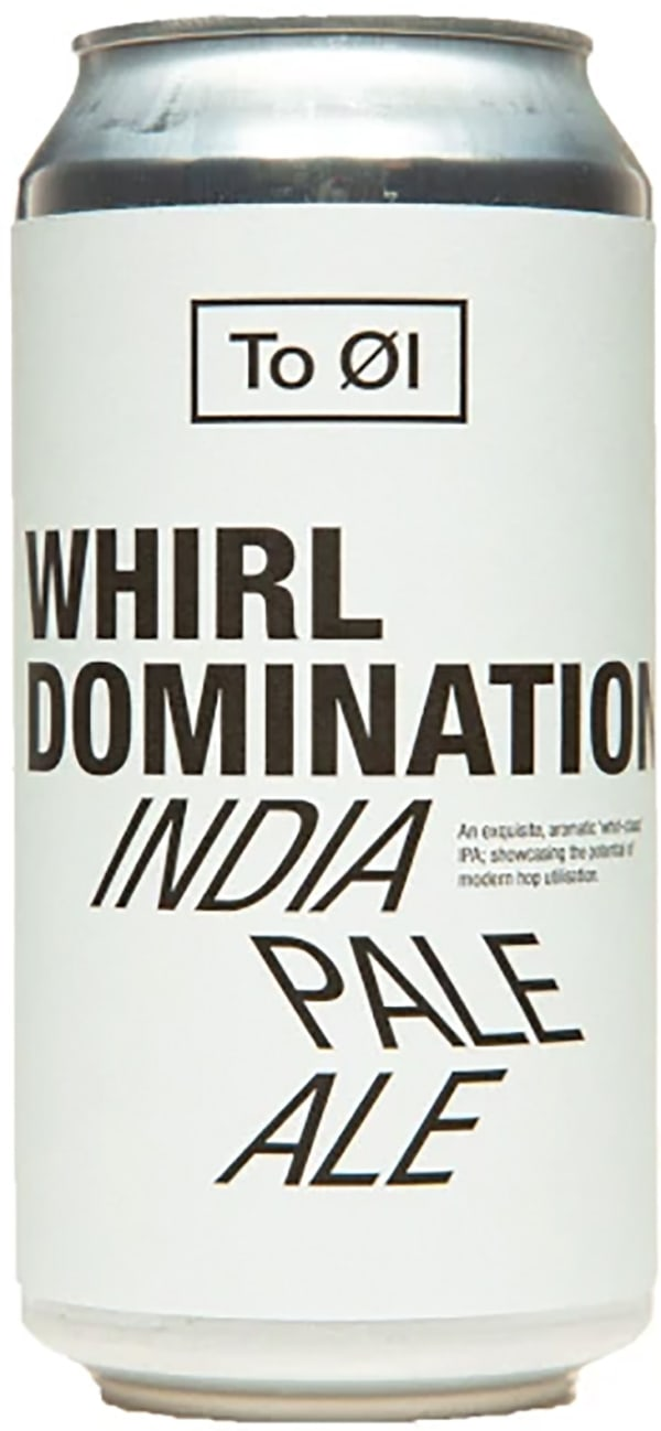 To Øl Whirl Domination India Pale Ale burk